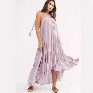 New Free People Bare It All Maxi Dress